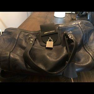 Jimmy Choo padlock bag